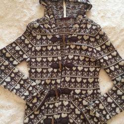 Jachetă elegantă Revizuire Germania lână