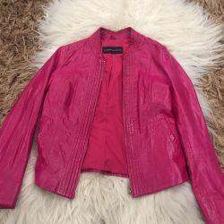 Jachetă din piele la Rene blanche