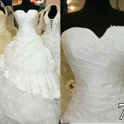 Rochie de mireasă nouă luxuriantă