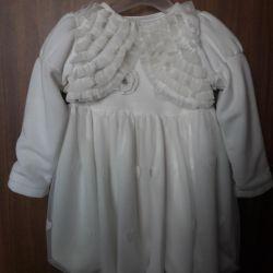 Bebek için elbise. Profile bak