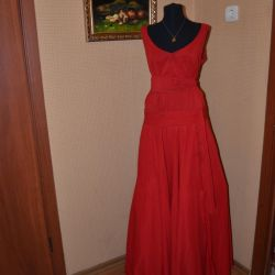 Платье вечернее дизайнерское на заказ сшитое
