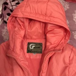Jacket elongated for a girl 8-9 years old
