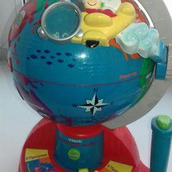 Battery powered globe