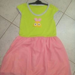 The dress is new. China. Size 116