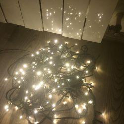 Garland 9 meters LED