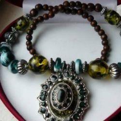 Handmade Semi-Precious Stones Necklace
