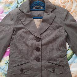 The jacket is new, profile, bargaining
