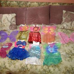 1-6 yıldır karnaval kıyafetleri