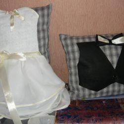 Свадебные атрибуты, подушки