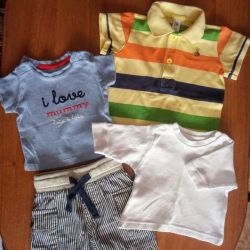 Clothes for the kid