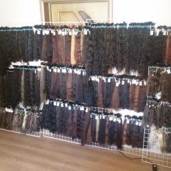 Natural combed hair