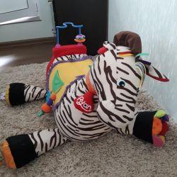 Игрушка развивающая Зебра