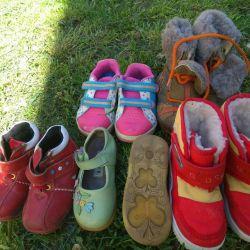 Ayakkabı boyutu 22