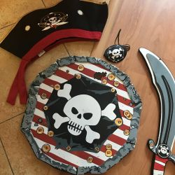 Pirate costume for hire