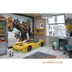 Bed SportLine (yellow) with light