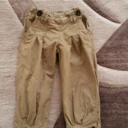 Linen stylish trousers