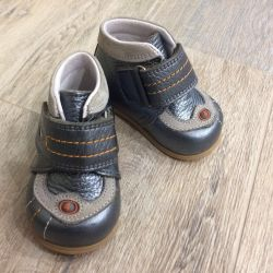 Baby shoes leather 17p