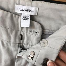 Cotton trousers Calvin Klein