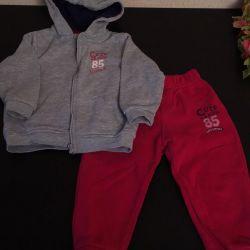 Sweatshirt (jacket) and pants