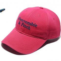 Бейсболка Abercrombie & Fitch (бордовый)