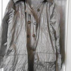 Harvested raincoat