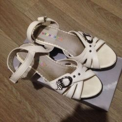 Sandals (leather) rr.32
