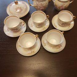 Tea set for 5 persons.