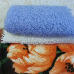 Wraps and downy shawls to order any size