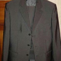 Мужской классический костюм и пиджак, 50-52