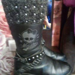 Boots demi-season monster high