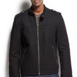 Jacheta elegant bombardieră tricotată