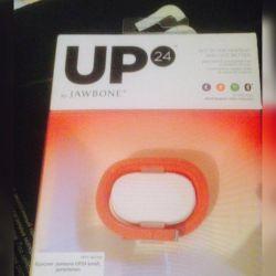 Bracelet Jawbone UP24 Persimmon onyx size S