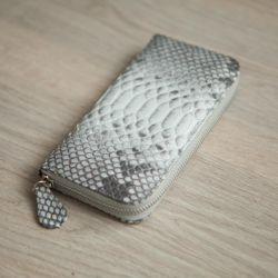 Hakiki deri python cüzdan