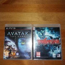 Wolfenstein and avatar on ps 3