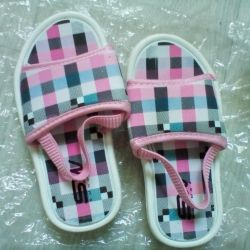 New slippers p 24