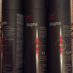 Paint for color highlighting Vella magma