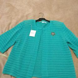 Cape, blouse, new