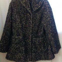 Boucle Mohair Coat
