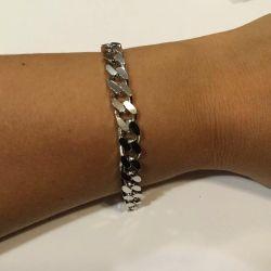 925 test de brățară de argint