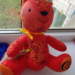 Антистресс игрушка русский медведь