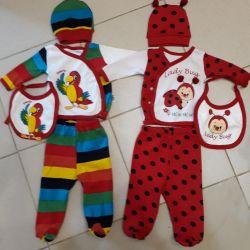 Kostümler 0-3 m.