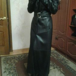 Leather coat 42-44