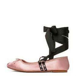 Балетки женские H&M цвет пудровый.