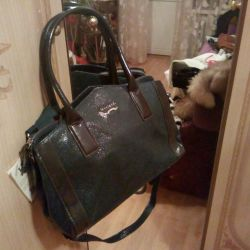 Italian new leather brand bag
