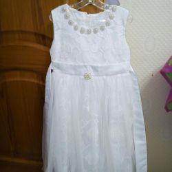 Küçük prensesler için güzel elbiseler.