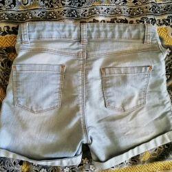 Denim shorts 128-134