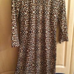 Dress-midi leopard