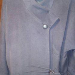 Пальто шерсть бамбук 54-56