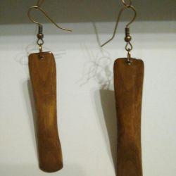 The original gift. Earrings.