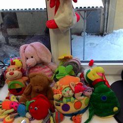 Jucării moi pentru copii